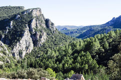 Amador rocks, castellon mountains Royalty Free Stock Image