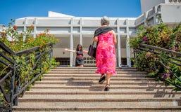 AMADORA/PORTUGAL- 25-ое августа 2015 - воссоединение семьи Стоковое Изображение