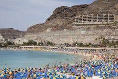 Amadores海滩 免版税库存图片