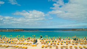Amadores beach, Gran Canaria Stock Photography