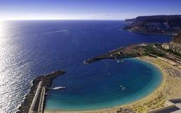 amadores Del Playa fotografia stock
