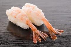 Amaebi Sushi Stockfoto