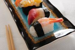 Amaebi sushi Royalty Free Stock Image