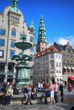 Amagertorv square in Copenhagen, Denmark Stock Photography