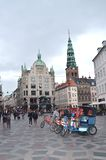 Amagertov τετραγωνική Κοπεγχάγη Tom Wurl Στοκ φωτογραφίες με δικαίωμα ελεύθερης χρήσης