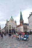 Amagertov fyrkantKöpenhamn Tom Wurl Royaltyfria Foton