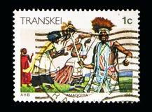 Amagqira, serie de Transkei, cerca de 1984 Imagem de Stock