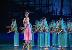 """Amah rock-Dance drama """"The Dream of Maritime Silk Road"""". Dance drama """"The Dream of Maritime Silk Road"""" centers on the plot of two generations of royalty free stock image"""