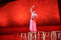 "Amah rock-Dance drama ""The Dream of Maritime Silk Road"" Stock Photos"