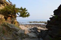 Amaharashi-kaigan Stockbild