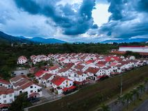 Amaizing home in Colombia Royalty Free Stock Image