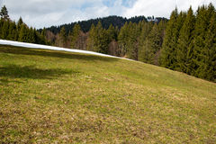 Amaizing mountains meadow in Bavaria Royalty Free Stock Photography