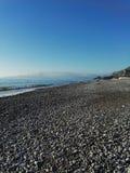 Amaizing widok na Tyrrhenian morzu Zdjęcia Stock