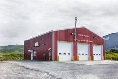 Amaknak海岛消防局, Unalaska 库存照片