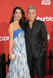 Amal Clooney and George Clooney Royalty Free Stock Images