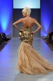 Amal Sarieddine - New York Fashion Week Royalty Free Stock Photos
