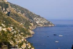 Amalf di Praiano Vettica La Costa Immagini Stock
