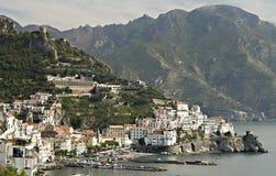 amalfi Италия Стоковые Изображения RF