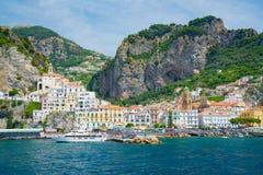 amalfi Италия Стоковое Изображение