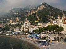 Amalfi Royalty-vrije Stock Foto