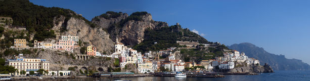 Amalfi Fotografia Stock