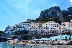 Amalfi imagem de stock