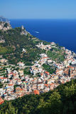 Amalfi from Above Stock Image