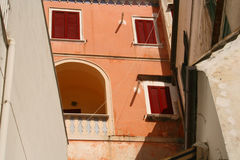 Amalfi abstrakcyjne obraz stock