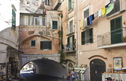 Amalfi ancient buildings. Stock Images