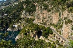 Amalfi-côte, Italie Photographie stock libre de droits
