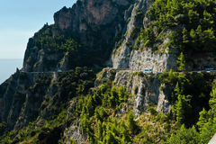 Amalfi-côte, Italie Images stock