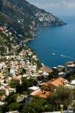 Amalfi-côte, Italie Photos libres de droits