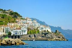 Amalfi, Campania region, Italy. Royalty Free Stock Photography