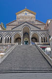 Amalfi Cathedral Stock Images