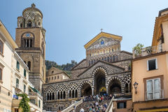 Amalfi Cathedral, Amalfi, Italy Royalty Free Stock Photos