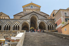 Amalfi Cathedral, Amalfi, Italy Stock Photography