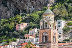Amalfi Cathedral architectural detail. Stock Image