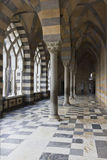 Amalfi Cathedral, external colonnade. Stock Photography