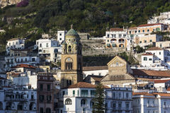 Amalfi Cathedral in Italy Royalty Free Stock Photography