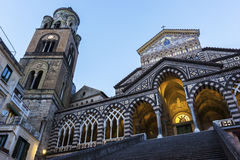 Amalfi Cathedral in Italy Royalty Free Stock Images