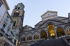 Amalfi Cathedral in Italy Stock Images