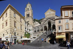 Amalfi cathedral Royalty Free Stock Photos