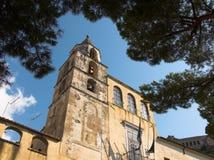 Amalfi chiesa Di San Benedetto Royalty-vrije Stock Afbeeldingen