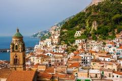 Amalfi city Stock Photos