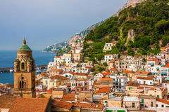 Amalfi city Royalty Free Stock Photos