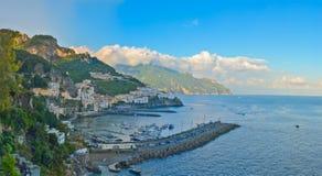 Amalfi city, Amalfi coast, Italy Stock Photos