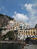 Amalfi. The city of Amalfi in Italy Royalty Free Stock Photography