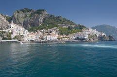 Amalfi cityscape Royalty Free Stock Images