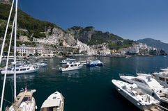 Amalfi cityscape Stock Photo