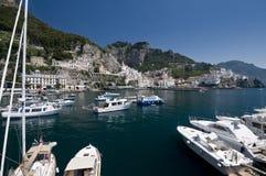 Amalfi cityscape Stock Photo